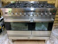 Britannia SI10T6L E Line Range Cooker (Electric and Gas) 100cm Stainless Steel