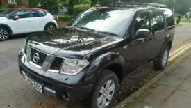 Nissan Pathfinder 2.5dci 56plate 4x4