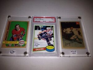Big lot of old valuable hockey cards. See all 8 pics