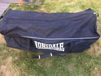 Lonsdale sports kit bag - football/hockey/netball/rugby etc
