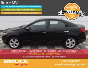 2010 Kia Forte EX 2.0L 4 CYL AUTOMATIC FWD 4D SEDAN BLUETOOTH CO