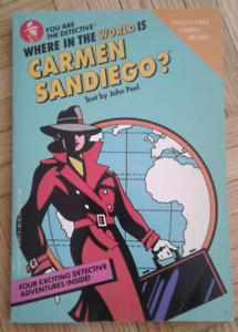 Where in the world is Carmen Sandiego? Book