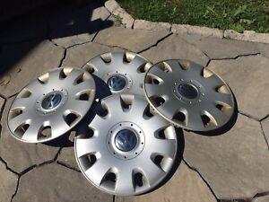 Volkswagen hub caps