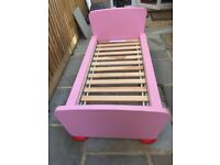 Kids bed pink Ikea Children's furniture