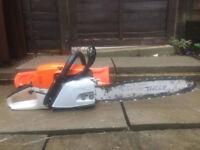 Stihl MS261C chainsaw with 18 inch bar