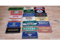 **CLASSIC BEER TOWELS**VINTAGE**COLLECTIBLE**19 AVAILABLE**RARE**