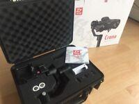 Zhiyun Crane V2 2017 camera gimbal Sony A7s II A6300 A6500 Canon Panasonic GH4 GH5 DSLR cameras