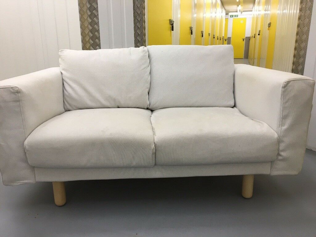 ikea norsborg two seat fabric sofa in swindon wiltshire gumtree. Black Bedroom Furniture Sets. Home Design Ideas