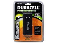 Duracell Portable Power Bank 4000mAh - Black
