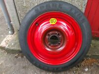 * * * 15 inch Ford Spare wheel, Pireli space saver, focus mondeo Spare Tyre * * *
