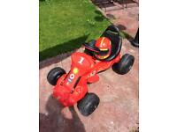 Childrens Red Electric Ride on Car