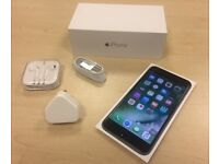 Boxed Space Grey Apple iPhone 6 Plus 128GB Factory Unlocked Mobile Phone + Warranty
