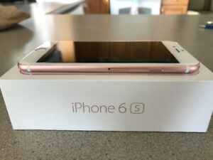 Rose Gold IPhone 6S in Excellent Condition