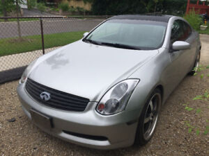 2004 Infiniti G35 Premium Coupe (2 door) WITH NAVI - NEED GONE