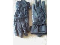 Motorcycle gloves. IXS women's. Extra small. Gortex. Have been worn.
