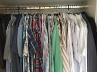 "Men's shirts 15.5"" collar £10 for bulk load"