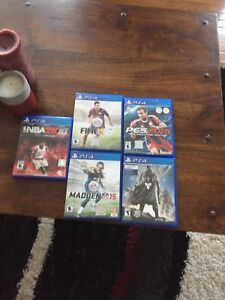 Ps4/PlayStation 4 games good condition