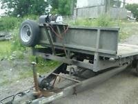 Ifor williams tilt bed car tranporter 16x6.6 no vat