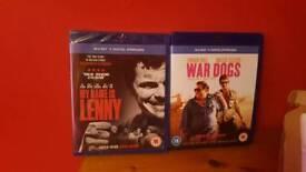 2 x bluray dvds
