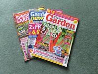 30 Assorted Gardening Magazines