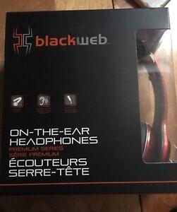Blackweb On-The-Ear Headphones