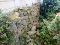 Hamstone walling