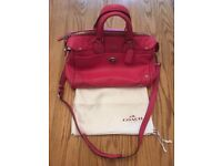BEAUTIFUL PINK COACH NEW YORK RHYDER 33689 BAG 100% GENUINE