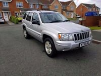 2004 53 JEEP CHEROKEE 2.7 CRDI AUTOMATIC 4X4 LOW MILES