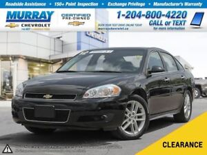 2012 Chevrolet Impala LTZ *Sunroof, Heated Seats, Remote Start*