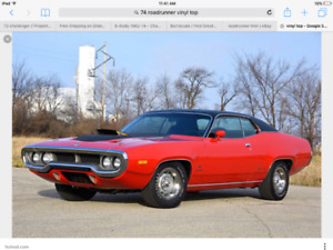 1971 Roadrunner project wanted
