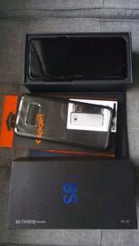 *** Samsung S8 black 64GB boxed like new ***