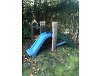 Kids slide and climbing play area.Buyer to dismantle and take away.