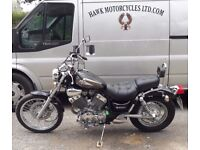 EXCEPTIONAL CONDITION 2001 YAMAHA XV535 DX VIRAGO ONLY 2711 MILES, 3 OWNERS