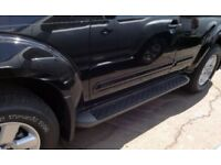Wanted Nissan Pathfinder Side Steps