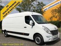 2013/ 13 Renault Master 2.3DCI LM35 125 LWB L3 H2 [ FRIDGE CHILLER ] Van Fwd