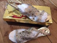 Ladies Sparkling Sandles -Size 39
