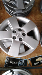 Set of hubcaps off a chev hhr  16 inches