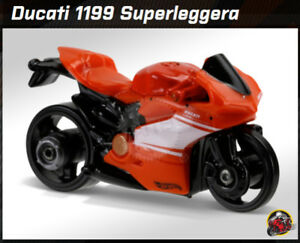 Ducati 1199 Superleggera Motorcycle, Hot Wheels 2016 HW Moto