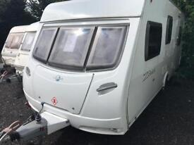 Lunar zenith 2008 model 5 berth touring caravan