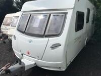 Lunar zenith 2008 model 5 berth touring caravan