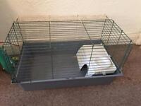 Indoor rabbit/guinea pig cage