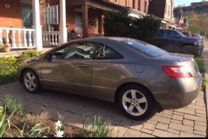 **WOW FULLY LOADED 2008 CIVIC EXL - LEATHER, SUNROOF, LOW KM**