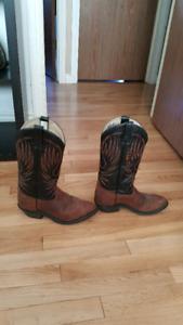 Woman's 'Bullrider' Cowboy Boots size 8.5