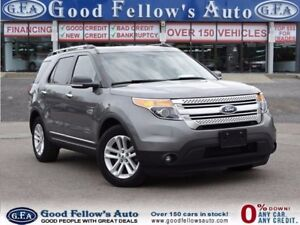 2014 Ford Explorer XLT, FWD, 7 PASSANGERS, CAMERA, 6CYL