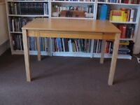 Computer Writing Desk Table Student Office Work White Pine Beech