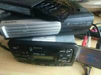 Ford rds 5000 radio cassette with Sony 6cd changer