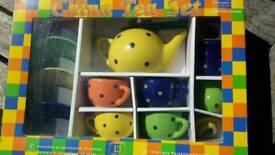 Child's toy China tea set