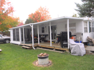 1995 Terry trailer and sunroom
