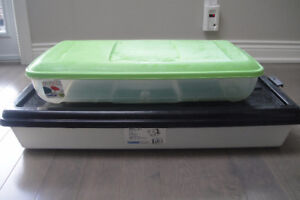 2   Trendz Gracious living Underbed Box Hinged Lid Easy Access