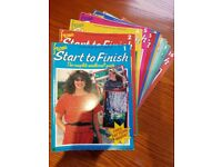 """FROM START TO FINISH"" NEEDLECRAFT MAGAZINES"